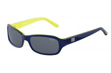 Morgan No. 207149 Sunglasses - Blue Frame and Grey Lens 207149-6510