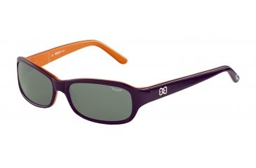 Morgan No. 207149 Sunglasses - Violet Frame and Grey Green Lens 207149-6511