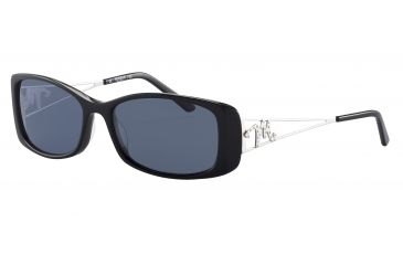 Morgan 207205 Bifocal Prescription Sunglasses - Black Frame and Grey Green Lens 207205-8840BI