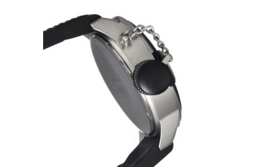 Morphic M24 Series Watch,Black Silicone Band,Silver Hand,Black Bezel,Black Analog Dial,Strap Buckle MPH2401