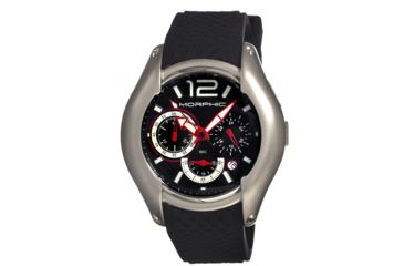 Morphic M3.5 Series Mens Watch, Black-Grey-White-Red MPH0305