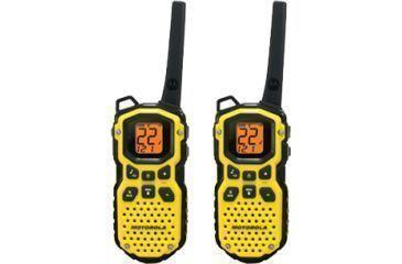 Motorola Talkabout 35 Mile Waterproof Two Way Radio Yellow Ms350r