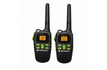 Motorola Talkabout 20 Mile Range, NiMH rechargeable or AAA, Black MD200R