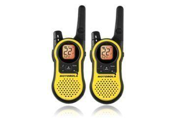 Motorola Talkabout 23-Mile Walkie Talkie, Yellow, MH230R
