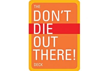 Mountaineers Books The Don't Die Out There Deck 1594850712