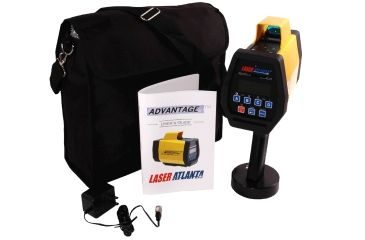 MPH Industries Advantage, Model R Distance Measuring Surveying Laser, Compass and Inclinometer and BlueTooth, Ruggedized MPH-ADV-3RCI-BT