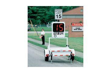 """MPH Industries Speed Monitor 18"""" Trailer package, standard, metric MPHSMT18K"""