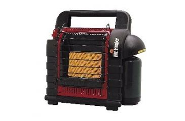 Mr. Heater MH9BX Buddy Portable Buddy Heater Black/Red