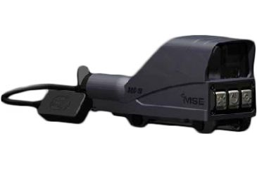 MSE AQC Reflex Sight 35x24mm 1/2AA Lithium Battery QD CR Polymer Housing, BLACK, 35X24MM AQC1B