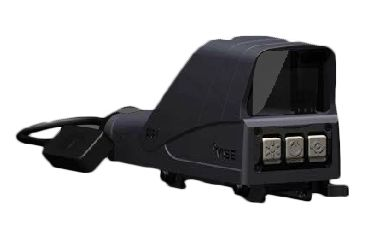 MSE AQC Reflex Sight 35x30mm AA Lithium Battery QD CR Polymer Housing, BLACK, 35X30MM AQC1