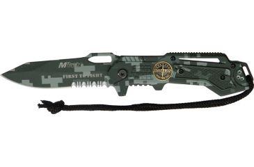 Mtech Linerlock Law-Military Knife, 4.75in. Closed MT570DG