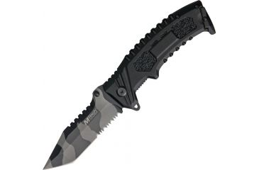 Mtech Tactical Partially Serrated Blade, 4.75in. Closed MT794TU
