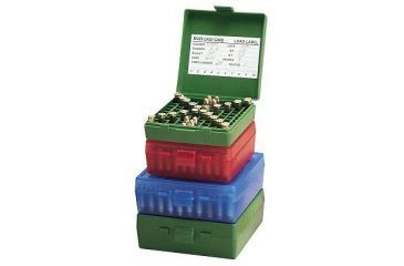 MTM 100 Round 9MM-380 Blue Pistol Ammo Box P100924