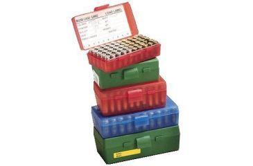 MTM 50 Round 45ACP/10MM Red Pistol Ammo Box P504529
