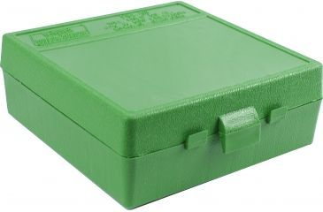 MTM Express Ammo Box .50 Action Express, .475 and .500 Linebaugh Green