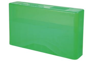MTM J-20 Slip-Top Boxes .300 To 7mm Magnum Caliber Clear Green