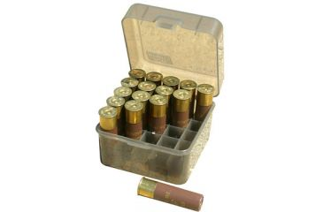 "MTM Shotshell Box 25 Round Flip-Top 10 12 Gauge Up To 3.5"", Green S25-12M-11"