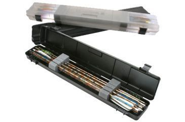 "MTM Ultra Compact Arrow Case 12 Arrows Upto 32.2"", Clear Smoke BHUC-41"