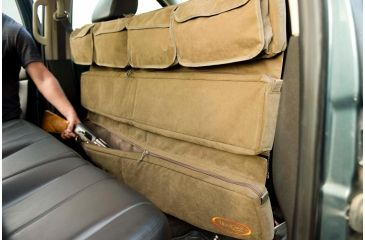6-Mud River Truck Seat Organizer w/Velcro Pockets