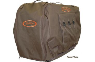 Mud River Bedford Kennel Cover M, Brown
