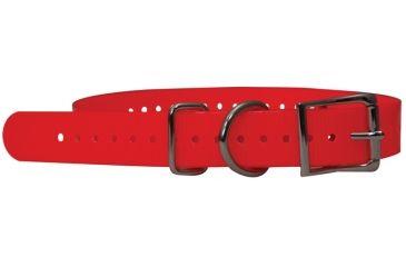 Mud River Firefly Collar vinyl coated collar, L Blaze Orange 18360