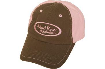 Mud River Hats, Dk Choc/Pink 19002