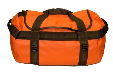 Mud River Large Duffel Bag, Orange 18357