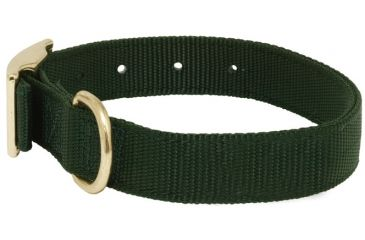 Mud River Scout Collar Nylon webbing, M Green 18411