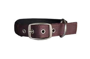 Mud River Swagger Neoprene lined collar, S Brown - puppy collar MR11890SB