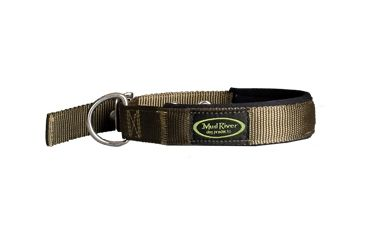 Mud River Swagger Neoprene lined collar, S Green - puppy collar MR11890SG