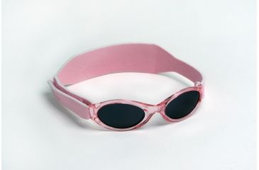 Real Kids Shades 0-24 Months My First Shades Sunglasses - Pink Shades w/ Adjustable Band 024PINK