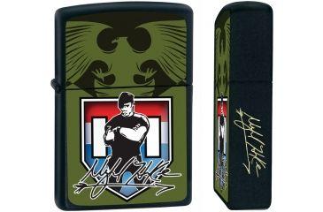 Mykel Hawke Zippo Lighter, 2 1/4in. x 1 7/16in. ZPMH1