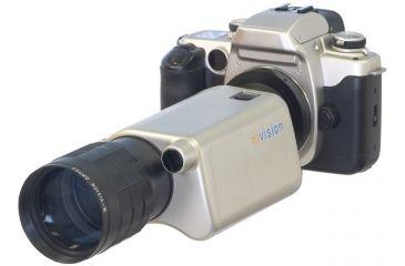 N-Vision Aurora 3.9x Monocular Platinum & Camera