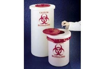 Nalge Nunc Biohazardous Waste Containers, NALGENE 6370-0004