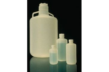 Nalge Nunc Bottles and Carboys, Fluorinated High-Density Polyethylene, Narrow Mouth, NALGENE 2097-0020