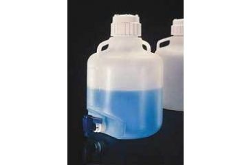 Nalge Nunc Carboys with Spigot and Handles, Low-Density Polyethylene, NALGENE 2318-0065