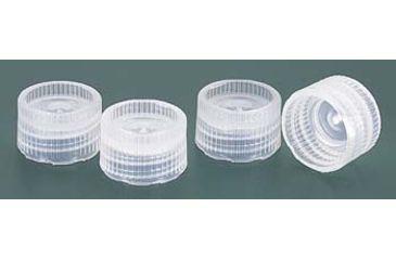 Nalge Nunc Closures for NALGENE Micro Packaging Vials, PPCO, Sterile, NALGENE 342825-0111 Amber Closures