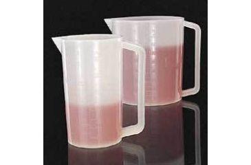 Nalge Nunc Graduated Beakers with Handle, High-Density Polyethylene, NALGENE 1220-1250