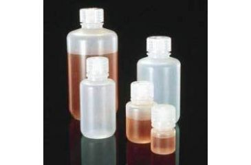 Nalge Nunc Laboratory Bottles, Low-Density Polyethylene, Narrow Mouth, NALGENE 2003-9025
