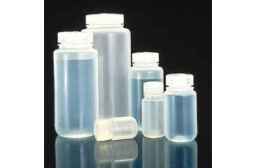 Nalge Nunc Laboratory Bottles, Polypropylene, Wide Mouth, NALGENE 2105-0016