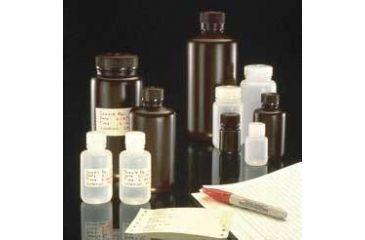 Nalge Nunc Packaging Bottles, HDPE, with Screw Caps, NALGENE 312085-0032 Amber, Narrow Mouth Bottles