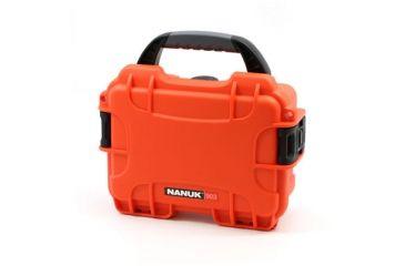 Nanuk 903 Hard Plastic Waterproof Case, Orange 903-0003