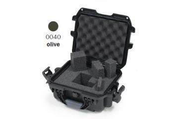 Nanuk 905 Case, Olive w/Cubed Foam