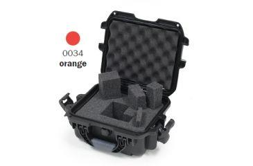 Nanuk 905 Case, Orange w/Cubed Foam