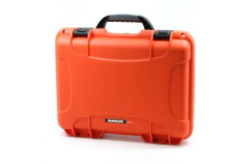Nanuk 910 Hard Plastic Waterproof Case, Orange 910-0003
