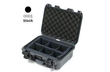 Nanuk 915 Case, Open, Black w/ Padded Divider