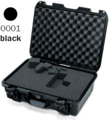 Nanuk 925 Case, Open, Black w/Cubed Foam