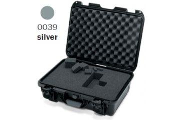 Nanuk 925 Case, Open, Silver w/Cubed Foam