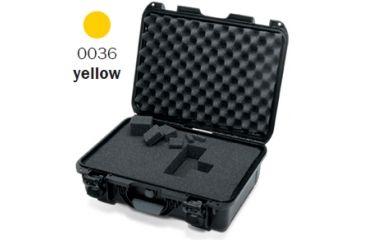 Nanuk 925 Case, Open, Yellow w/Cubed Foam