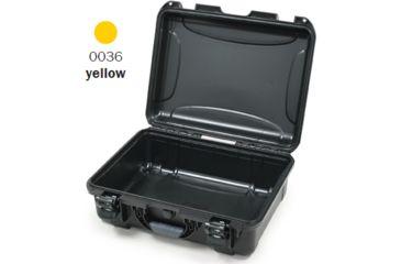 Nanuk 930 Case, Empty, Open, Yellow